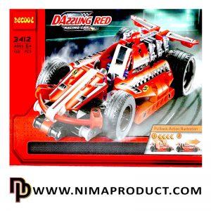 لگو دکول مدل Dazzing Red 3412