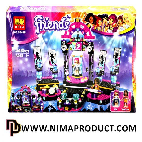 لگو Bella مدل Friends 10406
