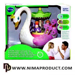 بازی آموزشی قو هولی تویز مدل Swan 536