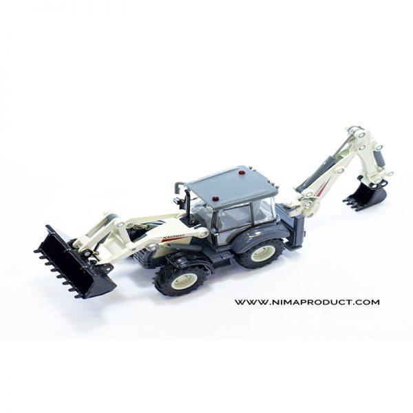 ماکت ماشین راه سازی مدل 625004 Back Hoe Loader