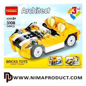لگو دکول مدل Architect 3108