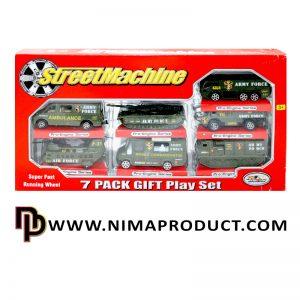 ست ماشین فلزی آمبولانس مدل PT 2011