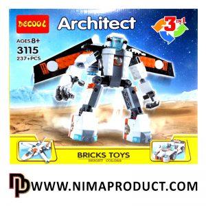 لگو دکول مدل Architect 3115