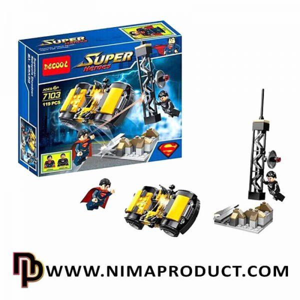 لگو دکول مدل Super Heros 7103