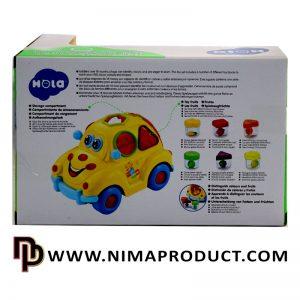 ماشین لگویی هولی تویز مدل Fruit Car 516
