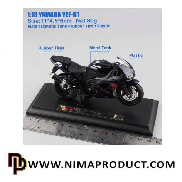ماکت موتور سیکلت مایستو مدل CBR1000RR