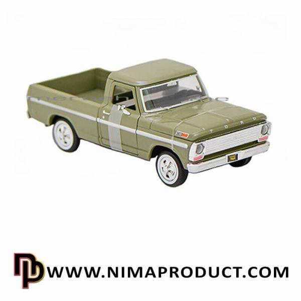 ماکت فلزی موتور مکس مدل 1969 Ford F-100 Pickup