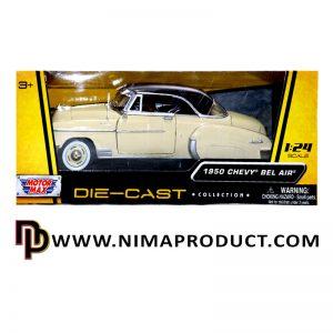ماکت فلزی موتورمکس مدل Chevy Bel Air 1950