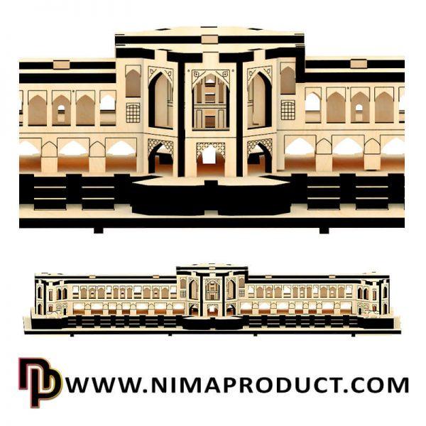 پازل سه بعدی چوبی پل خواجو اصفهان سایز کوچک آیتم 110317