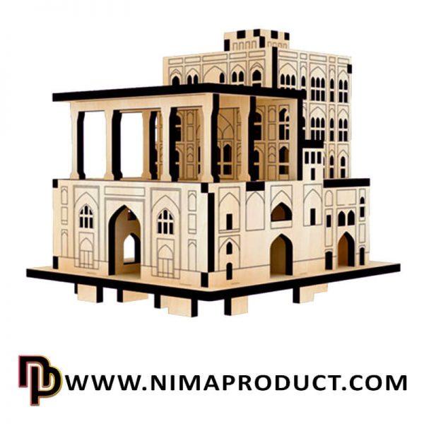 پازل سه بعدی عمارت عالی قاپو سایز کوچک آیتم 111860