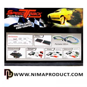 کیت ماشین ریسینگ Speed Track مدل 8808
