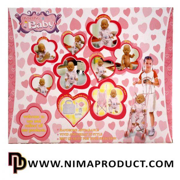 عروسک Lovely Baby کالسکه دار آیتم 0702