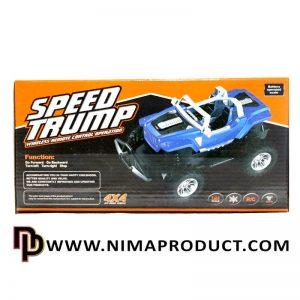 ماشین کنترلی جیپ Speed Trump مدل 663