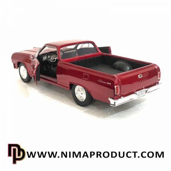 ماکت فلزی موتور مکس مدل 1969 Chevy El Camino