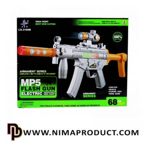 تفنگ تیر ژله ای و ابری Mp5 آیتم 03.1