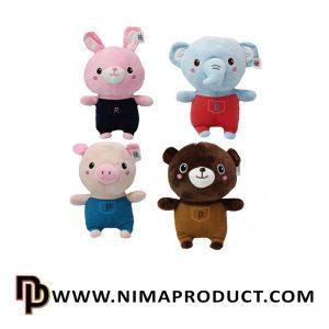 عروسک حیوانات لباس کبریتی