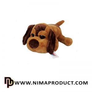 عروسک استرج سگ خوابیده چشم تیله ای