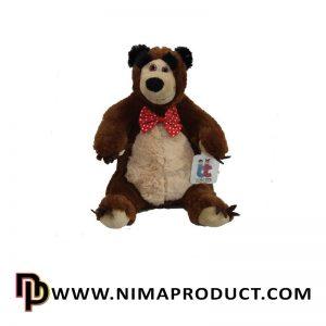 عروسک خرس میشا
