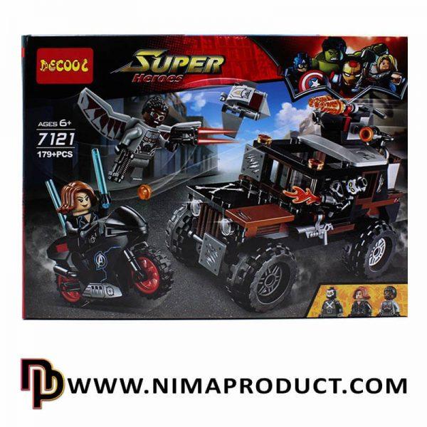 لگو دکول مدل Super Heroes 7121