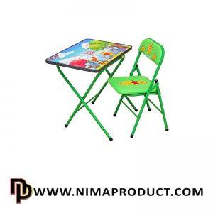 میز و صندلی تحریر هانیبال مدل خرس پو