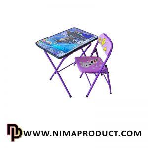 میز و صندلی تحریر هانیبال مدل فروزن