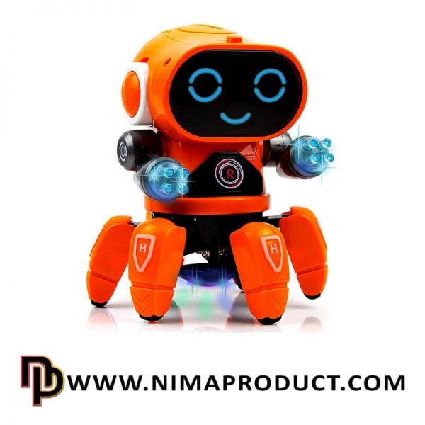 ربات موزیکال خرچنگی مدل ZR142