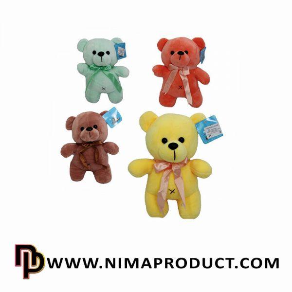 عروسک استرج خرس ایستاده رنگی