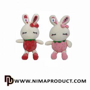 عروسک استرج خرگوش گوش LOVE
