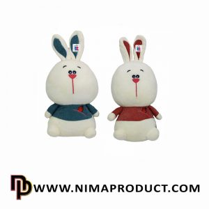 عروسک استرج خرگوش بدن هویجی