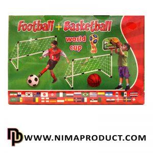 تیر دروازه فوتبال و بسکتبال جام جهانی