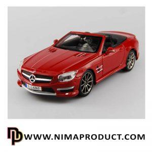 ماکت ماشین فلزی مدل Mercedes Benz SL 63 AMG