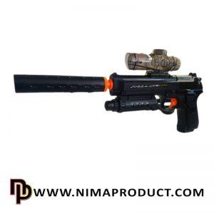 تفنگ تیر ژله ای شارژی مدل D2B-1