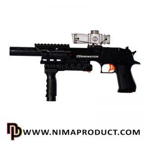 تفنگ تیر ژله ای شارژی مدل D8A