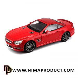ماکت ماشین فلزی مدل Mercedes Benz SL 63 AMG Hard Top