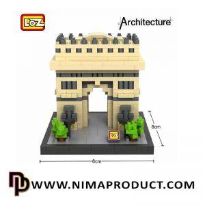 لگو سری معماری مدل LOZ 9377