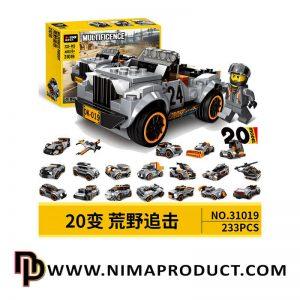 لگو ماشین دکول مدل 31019
