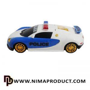 اسباب بازی ماشین پلیس بوگاتی درج