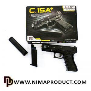 تفنگ کلت ساچمه ای ایرسافت مدل +C15A