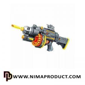 تفنگ بادی بزرگ تیر اسفنجی مدل SB400