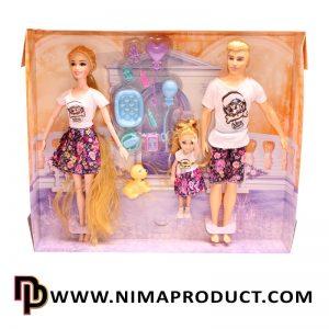 عروسک باربی زن و شوهر مفصلی آیتم 521