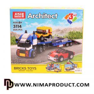 لگو کامیون خودروبر برند Jisi مدل Architect 3114