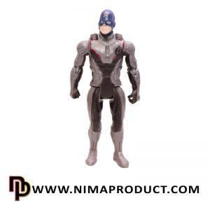 اکشن فیگور شخصیت کاپیتان آمریکا اونجرز طرح 2