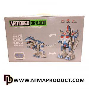 ربات دایناسور تبدیل شونده کنترلی هوشمند آیتم 6028