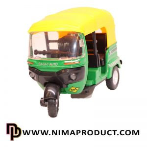 ماکت فلزی ماشین توک توک هندی