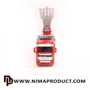 ماکت فلزی ماشین جرثقیل آتش نشانی