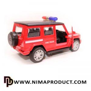 ماکت فلزی ماشین جیپ امداد نجات