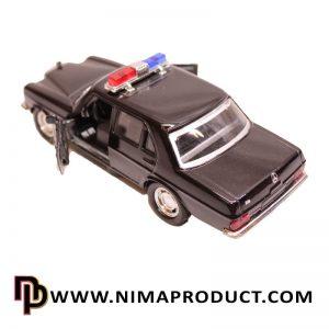 ماکت فلزی ماشین پلیس بنز