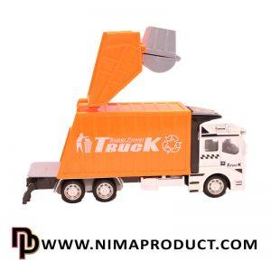 ماکت فلزی ماشین کامیون حمل زباله