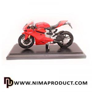 ماکت فلزی موتور سیکلت دوگاتی برند مایستو