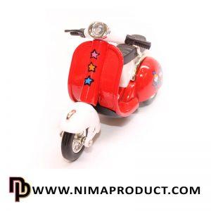 ماکت فلزی موتور سیکلت وسپا